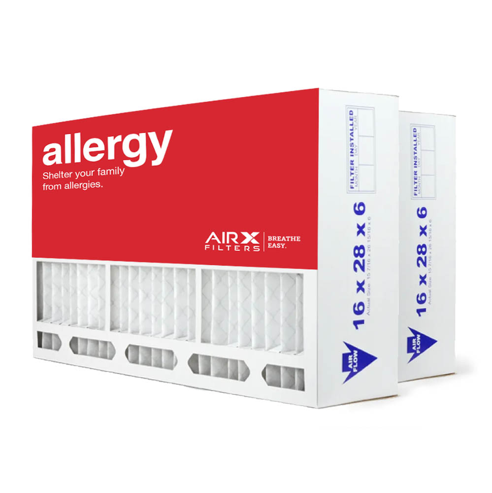 16x28x6 AIRX ALLERGY Aprilaire 401 Replacement Air Filter - MERV 11