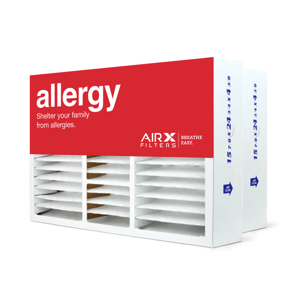 16x25x5 AIRx ALLERGY Honeywell FC100A1029 Replacement Air Filter - MERV 11, 2 pack