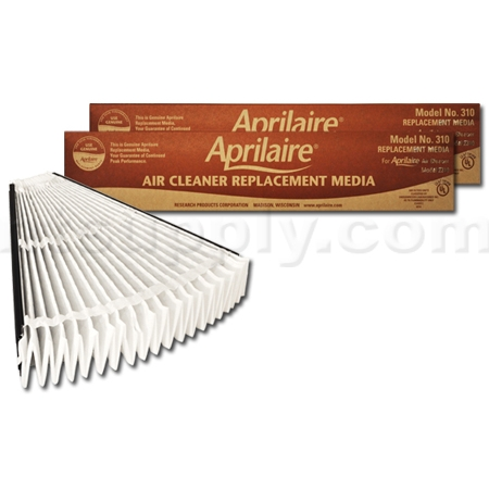 Aprilaire #310 MERV 11 Replacement Filter, 2-Pack
