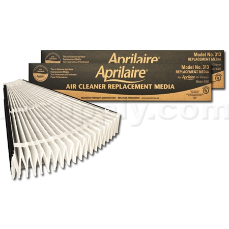 Aprilaire #313 MERV 13 Replacement Filter, 2-Pack