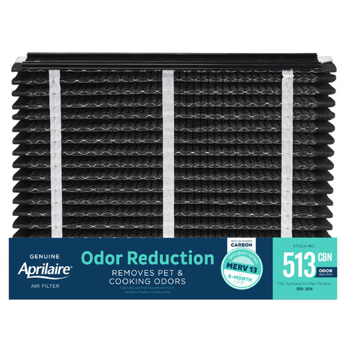 Aprilaire #513CBN MERV 13 Odor Reduction Replacement Filter