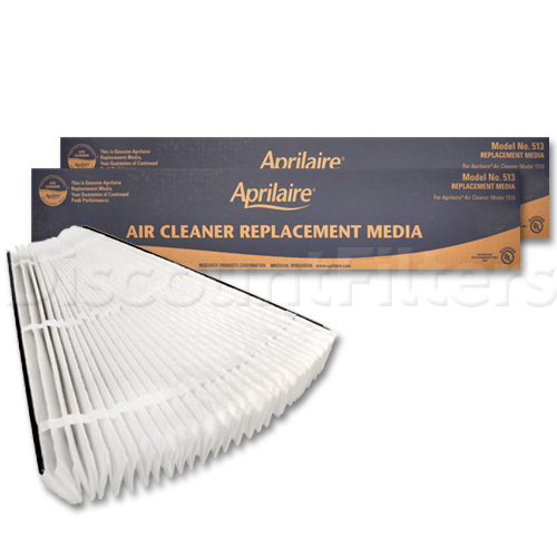 Aprilaire #513 High Efficiency Filtering Media, 2-Pack