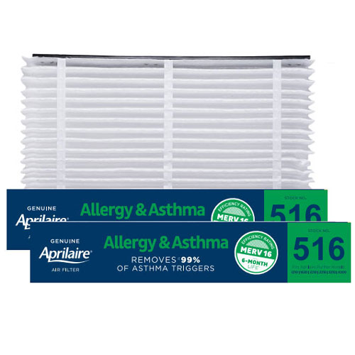 Aprilaire #516 High Efficiency Filtering Media, 2-Pack