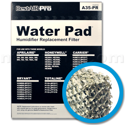 Replacement Water Panel for Whole House Humidifiers - 2-Pack