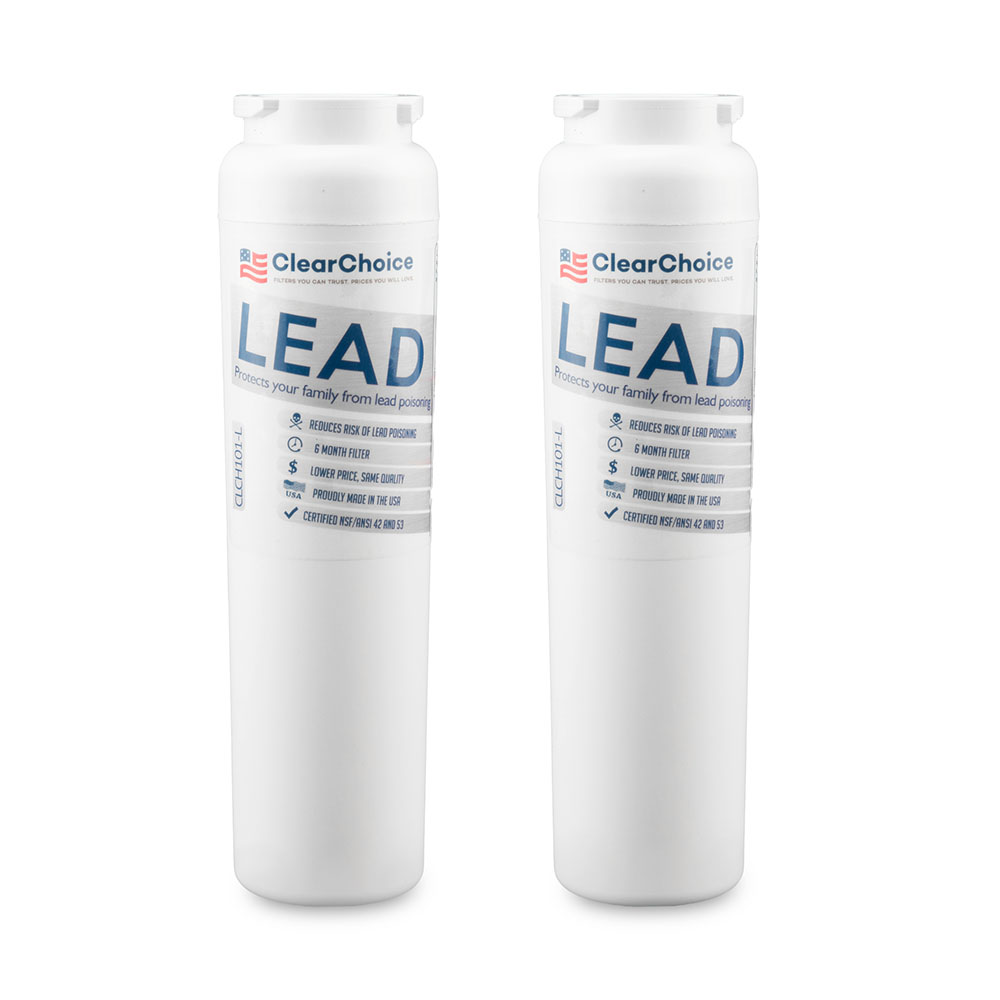 ClearChoice Replacement for Maytag UKF8001 Filter -  Lead Reduction, 2-Pack