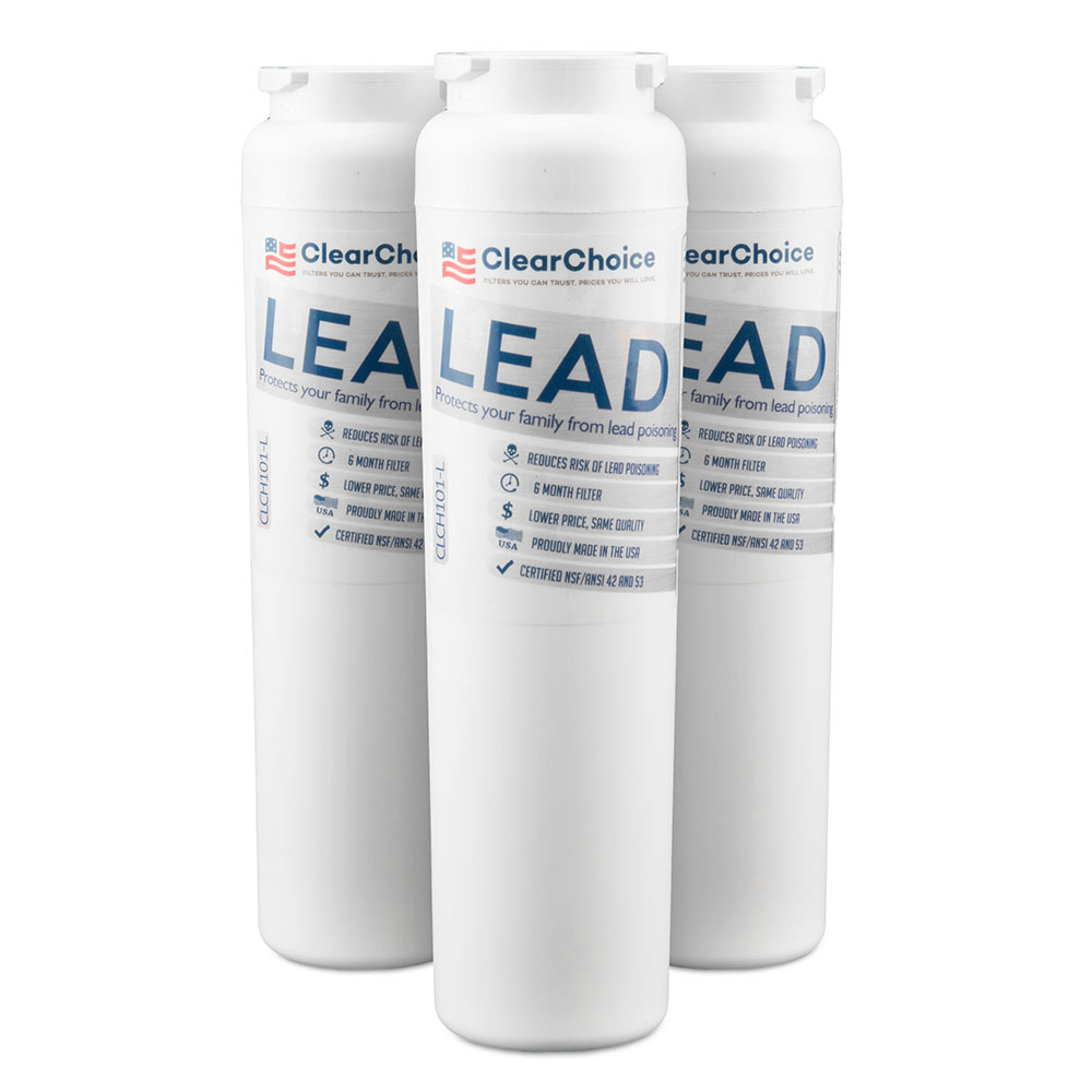 ClearChoice Replacement for Maytag UKF8001 Filter -  Lead Reduction, 3-Pack