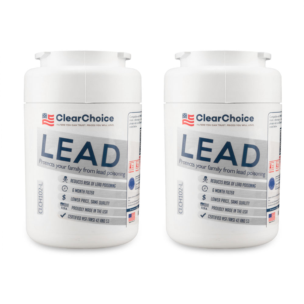 ClearChoice Replacement for GE MWF Filter -  Lead Reduction, 2-Pack