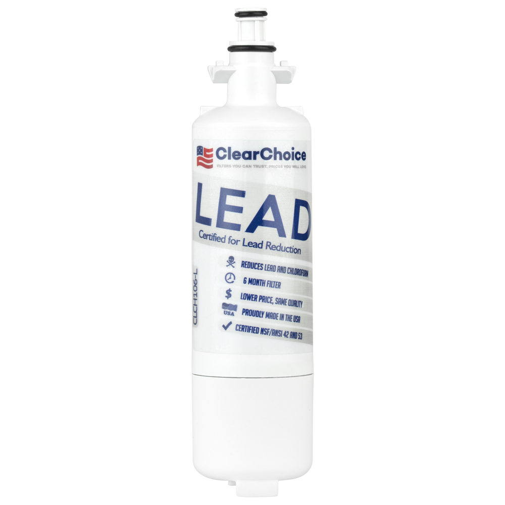 ClearChoice Replacement for LG LT700P Refrigerator Filter, Lead Reduction