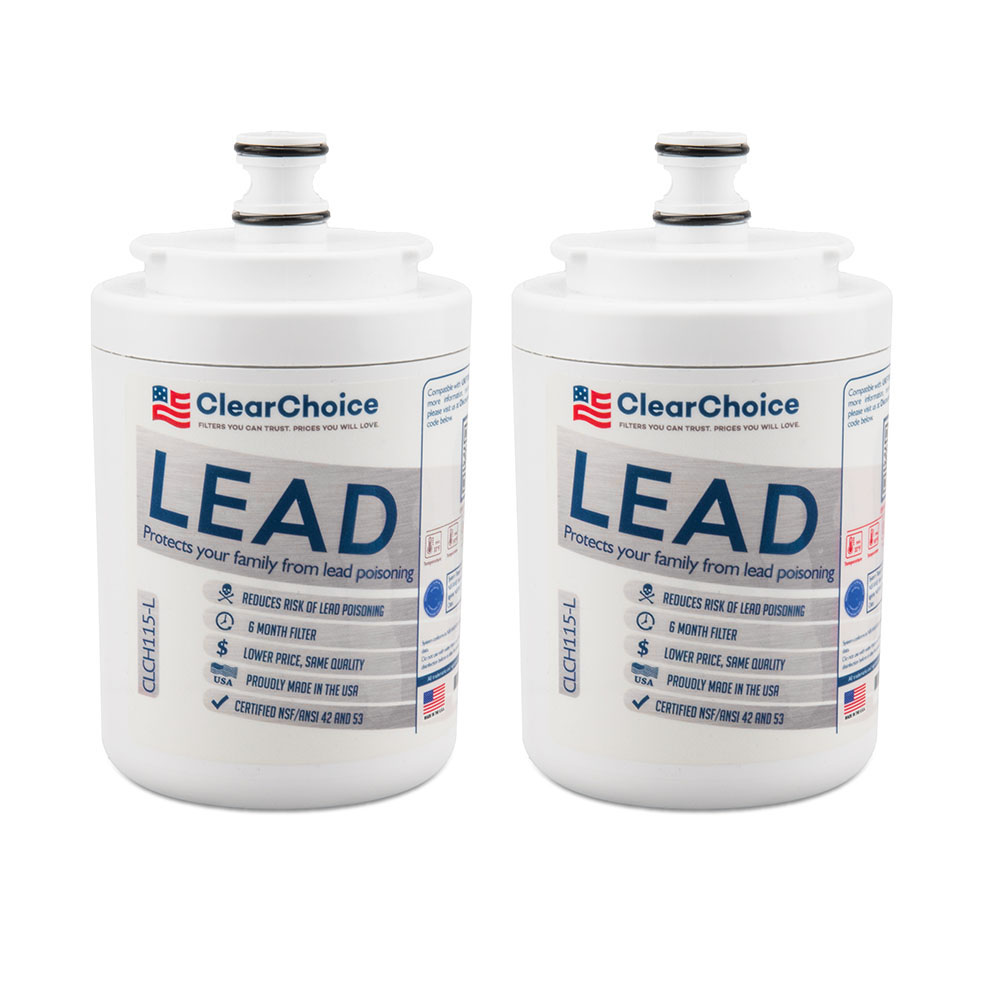 ClearChoice Replacement for Maytag UKF7003 Filter -  Lead Reduction, 2-Pack