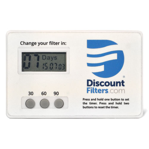 Deluxe Filter Change Timer - 30, 60, or 90 Days
