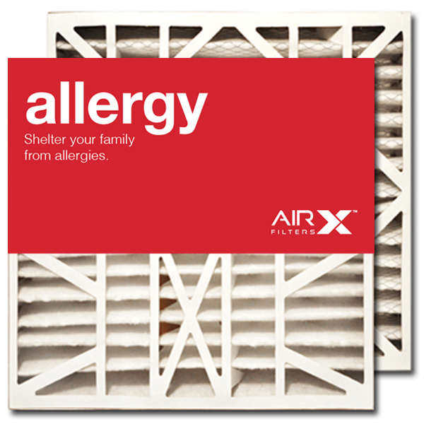 20x21x5 AIRx ALLERGY White Rodgers FR1600-100 Replacement Air Filter - MERV 11