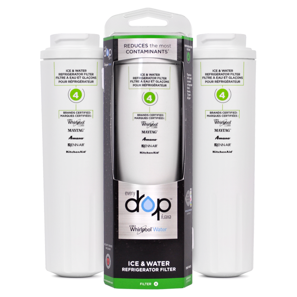 Whirlpool EDR4RXD1 Refrigerator Water Filter (Filter4), 3-Pack