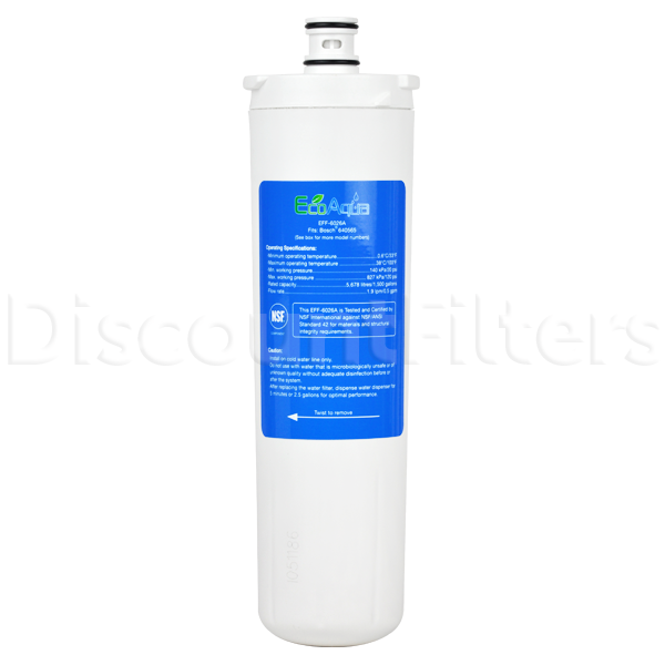 EcoAqua Replacement Filter for Bosch 640565 Refrigerator Filter
