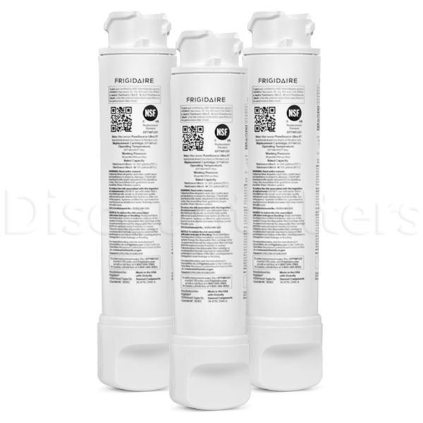 Frigidaire EPTWFU01 Refrigerator Water Filter, 3-Pack