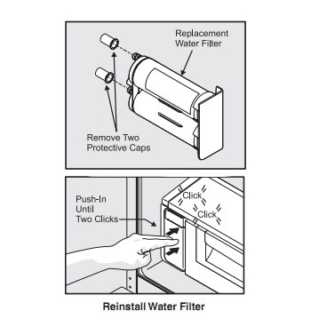 How to install the EWF01 filter