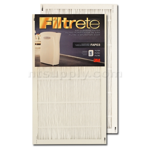 Replacement Filter for 3M Filtrete & Ultra Clean Air Purifier - FAPF03