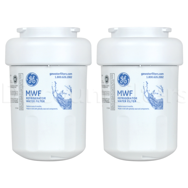 GE SmartWater MWF Filter Cartridge (GWF), 2-Pack