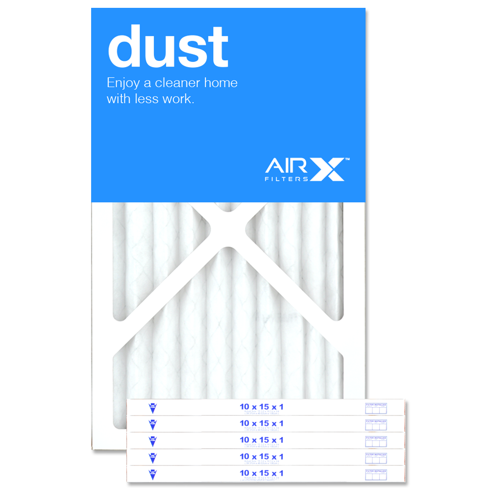 10x15x1 AIRx DUST Air Filter - MERV 8