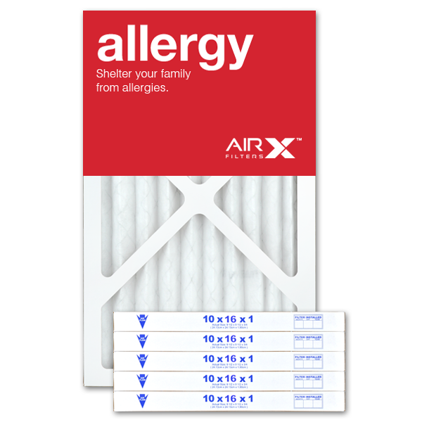 10x16x1 AIRx ALLERGY Air Filter - MERV 11