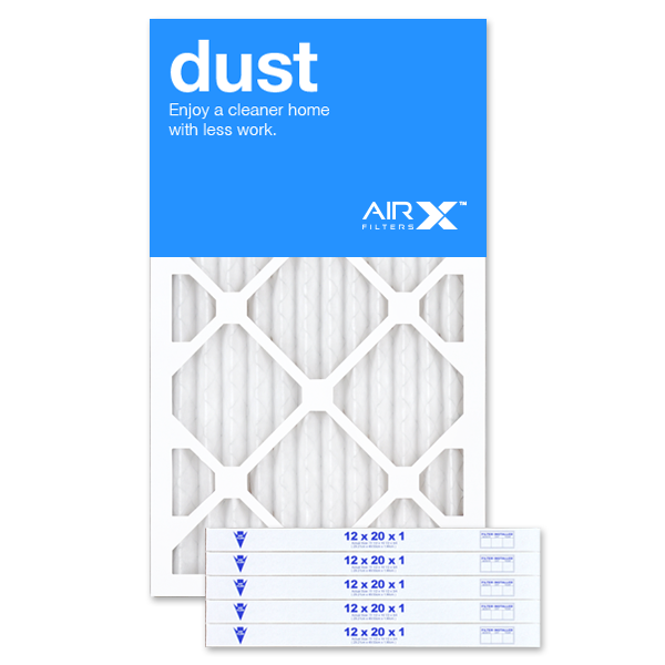 12x20x1 AIRx DUST Air Filter - MERV 8