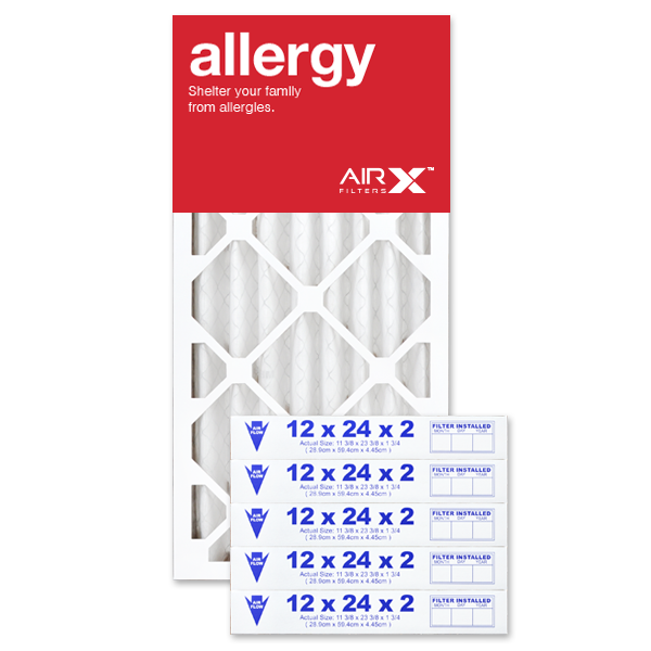 12x24x2 AIRx ALLERGY Air Filter - MERV 11