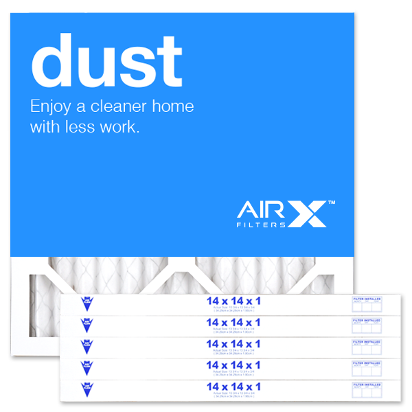 14x14x1 AIRx DUST Air Filter - MERV 8