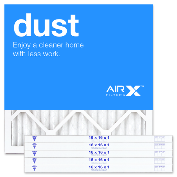 16x16x1 AIRx DUST Air Filter - MERV 8