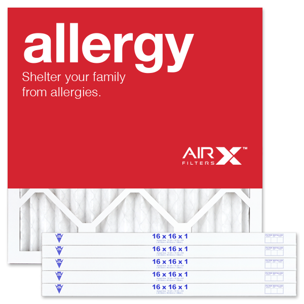16x16x1 AIRx ALLERGY Air Filter - MERV 11