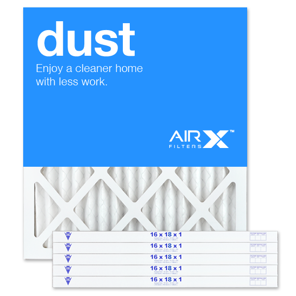 16x18x1 AIRx DUST Air Filter - MERV 8