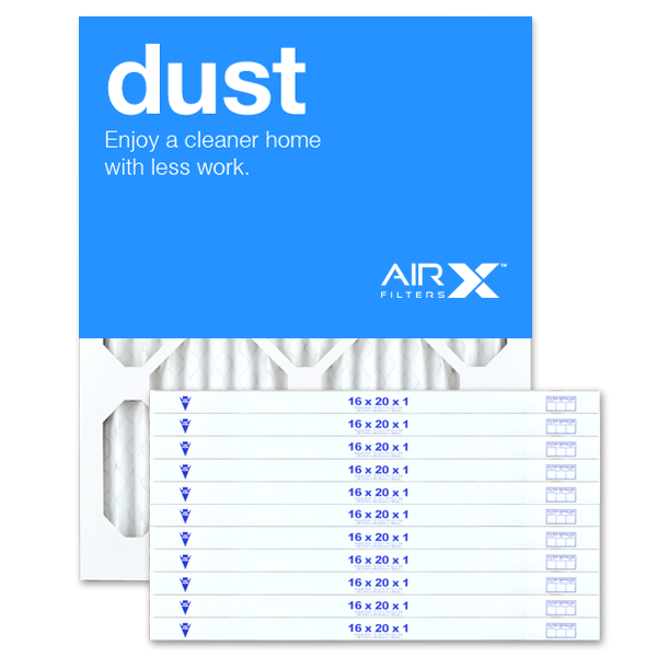16x20x1 AIRx DUST Air Filter - MERV 8