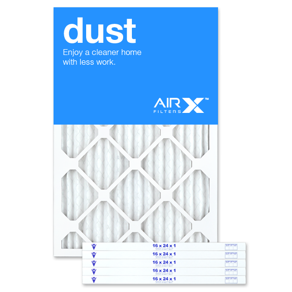 16x24x1 AIRx DUST Air Filter - MERV 8
