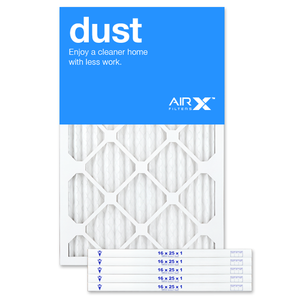 16x25x1 AIRx DUST Air Filter - MERV 8