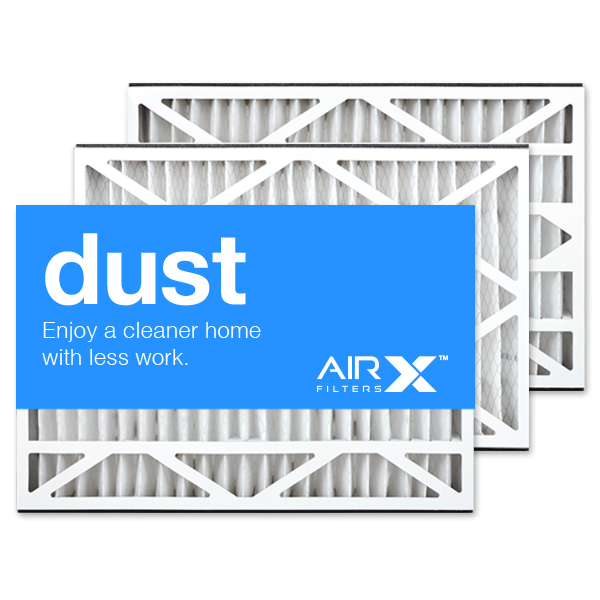 16x25x3 AIRx DUST Air Bear 255649-101 Replacement Air Filter - MERV 8