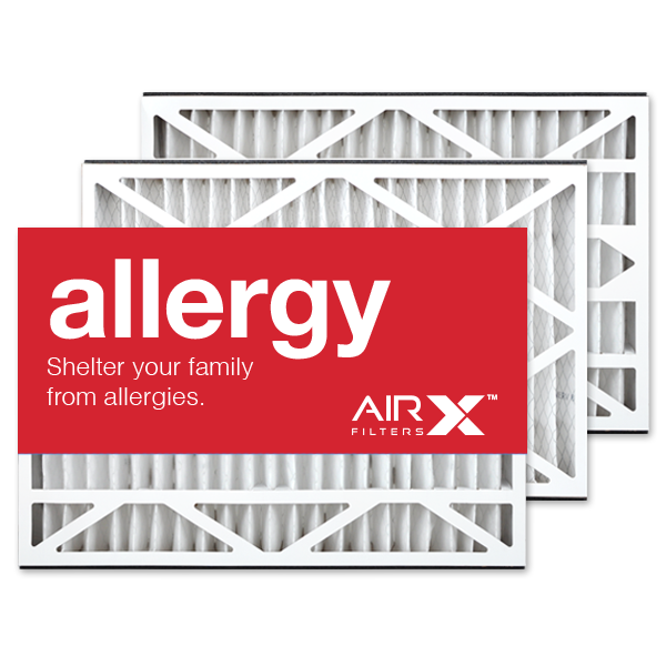 16x25x3 AIRx ALLERGY Air Bear 255649-101 Replacement Air Filter - MERV 11