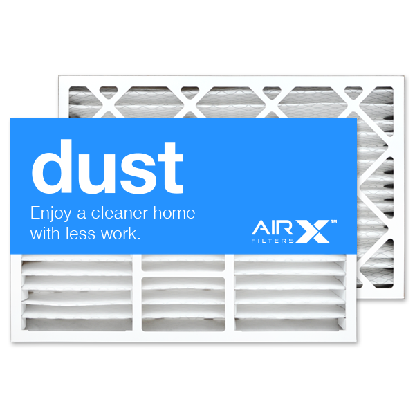 16x25x5 AIRx DUST Lennox X6670 Replacement Air Filter - MERV 8