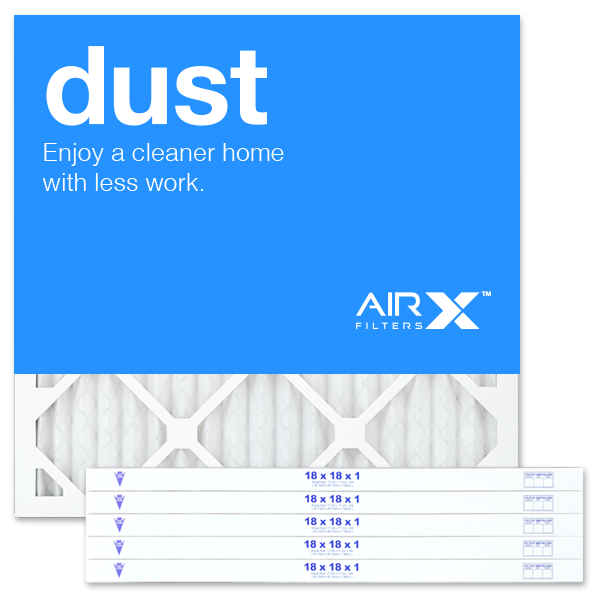 18x18x1 AIRx DUST Air Filter - MERV 8