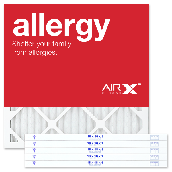 18x18x1 AIRx ALLERGY Air Filter - MERV 11