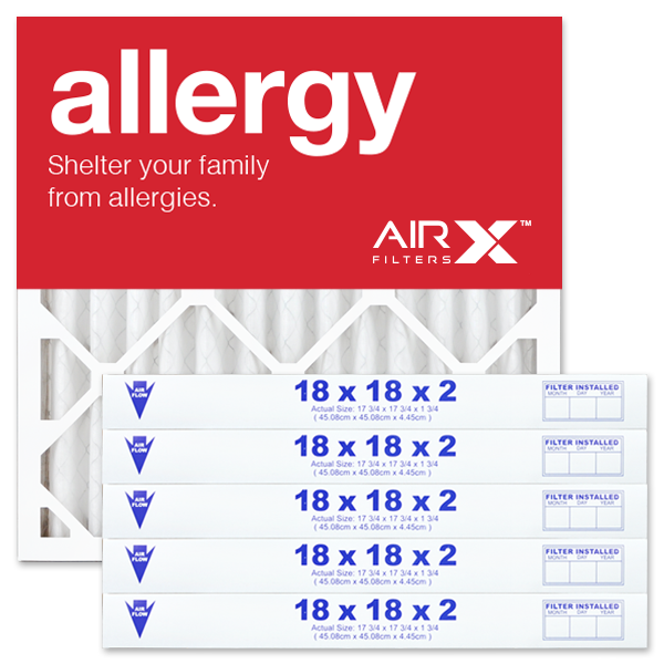 18x18x2 AIRx ALLERGY Air Filter - MERV 11