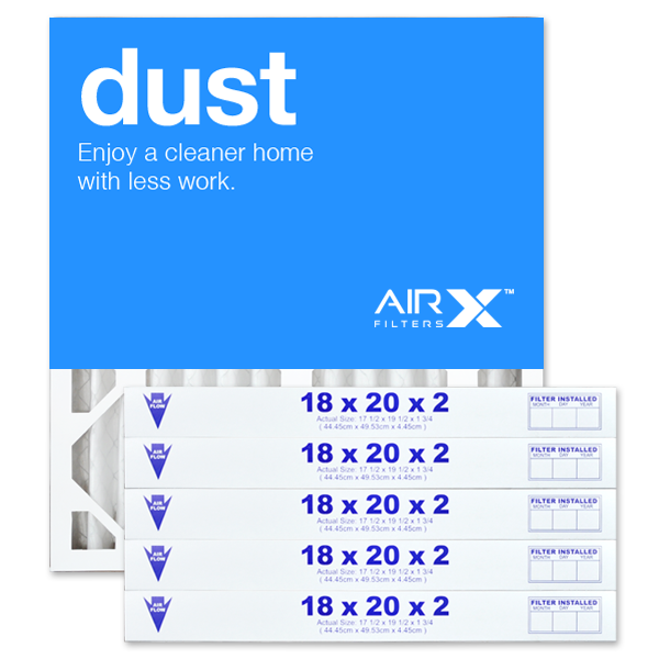 18x20x2 AIRx DUST Air Filter - MERV 8
