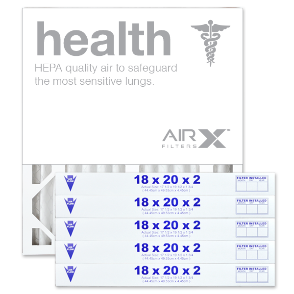 18x20x2 AIRx HEALTH Air Filter - MERV 13