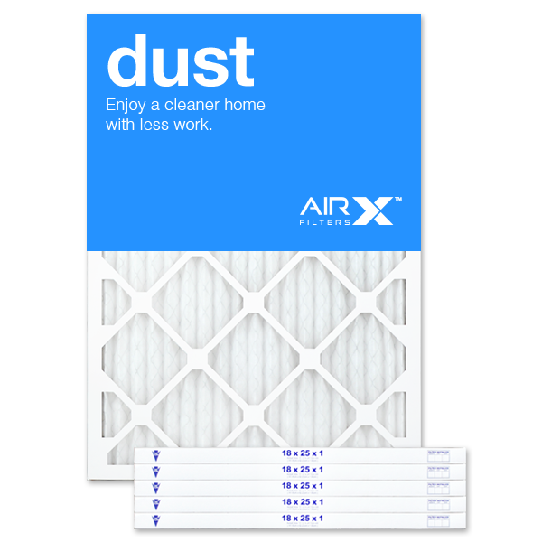 18x25x1 AIRx DUST Air Filter - MERV 8