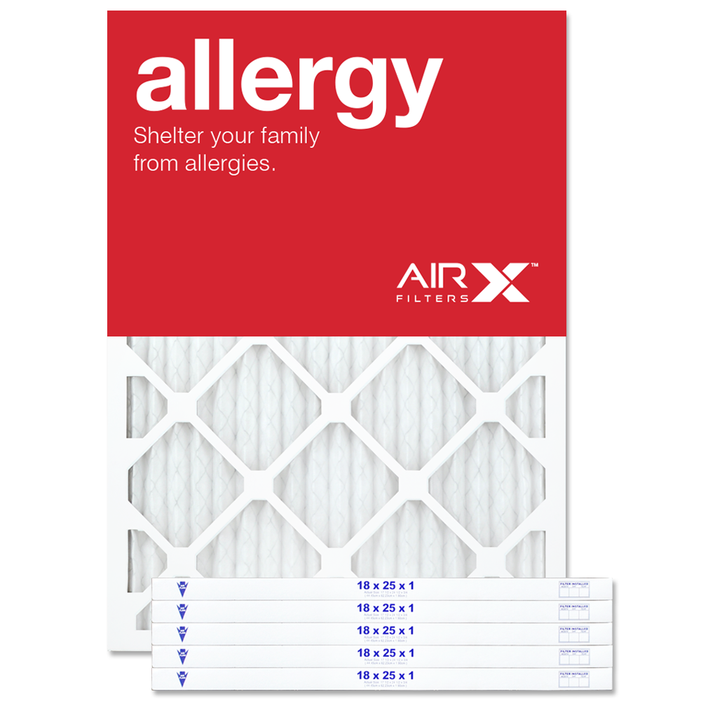 18x25x1 AIRx ALLERGY Air Filter - MERV 11