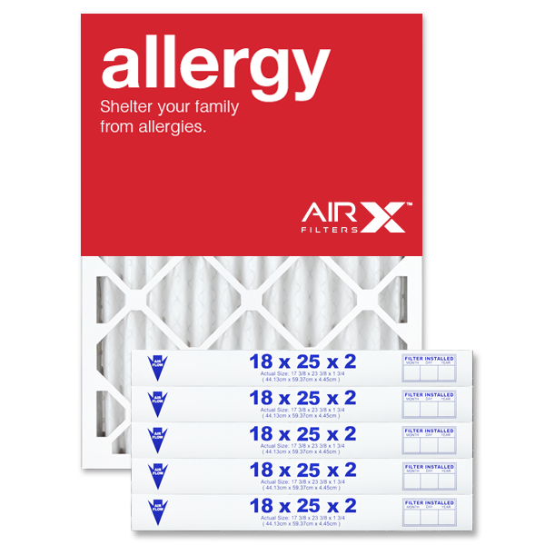 18x25x2 AIRx ALLERGY Air Filter - MERV 11