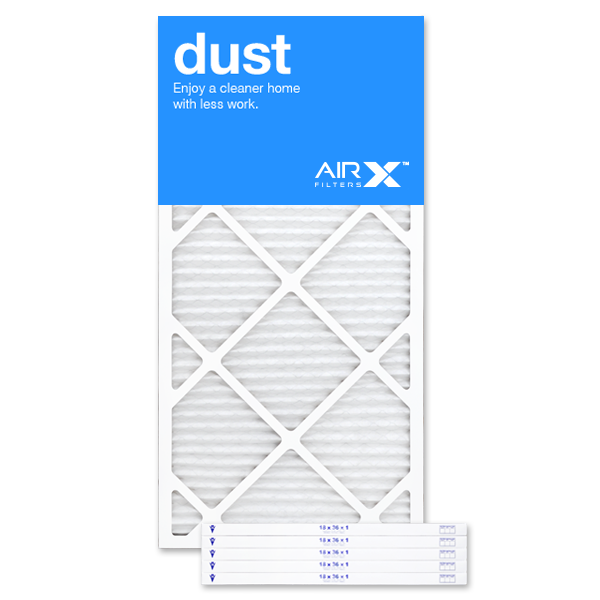 18x36x1 AIRx DUST Air Filter - MERV 8