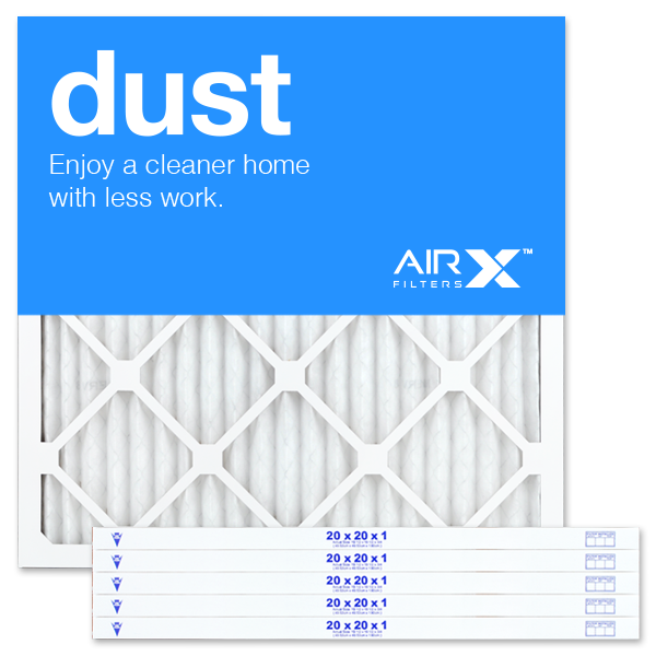 20x20x1 AIRx DUST Air Filter - MERV 8
