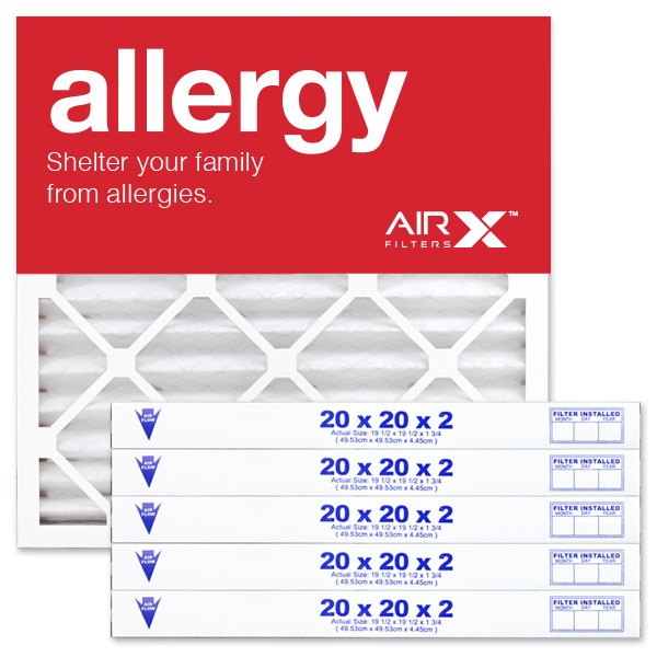 20x20x2 AIRx ALLERGY Air Filter - MERV 11