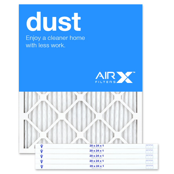 20x24x1 AIRx DUST Air Filter - MERV 8