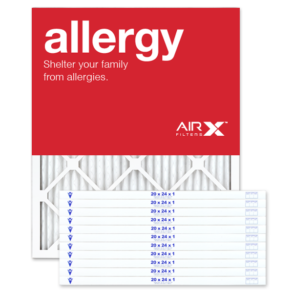 20x24x1 AIRx ALLERGY Air Filter - MERV 11