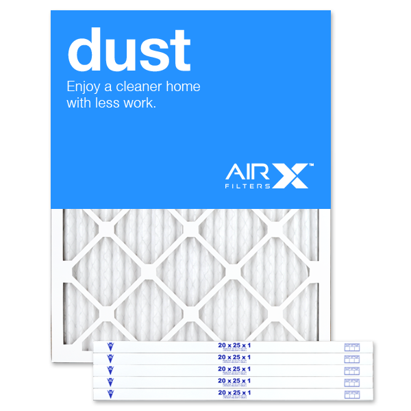 20x25x1 AIRx DUST Air Filter - MERV 8