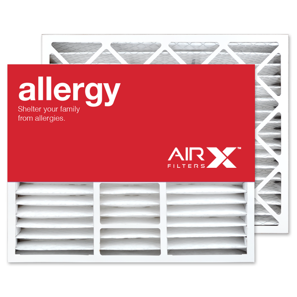 20x25x5 AIRx ALLERGY Bryant/Carrier FILXXCAR0020 Replacement Air Filter - MERV 11